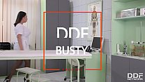Busty Nurse Tigerr Benson Enjoys intense DP Fuck session