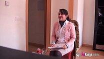 Chubby teen latina secretary gets pounded 'caus... Thumbnail