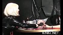 Playgirl makes serf waiter on her