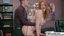 (Lauren Phillips) Busty Office Girl In Hard Sty... thumb