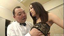 Nozomi Mashiro takes matters in hand as she bos...
