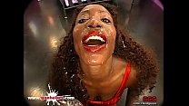 Black Babe Bernadette Bukkake Gangbang - German... Thumbnail