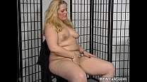 Chubby blond e is willing to give her