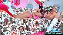 Mean Lez Girl (abigail jessa) Punish With Sex T...