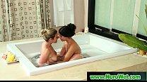 Busty Japanese Masseuse Gives Nuru Massage And …