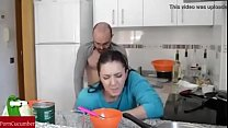 Hot Wife Fuck Hard by Husband- Latest Kitchen Sex