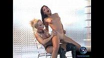 Gorgeous Aneta Keys and Sylvia Saint screwing e...