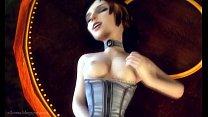 Elizabeth Comstock (Bioshock) gets drilled in C...