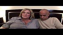 BBW Blonde Mom loves Interracial Dating BBC Video