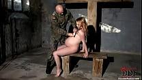 Pregnant sex slave