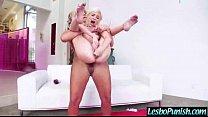 (phoenix&piper) Lesbo Girl Get Dildo Sex Toy Pu...