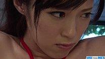 Sara Yurikawa stimulated in kinky bondage porn ...