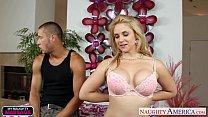 Chesty blonde Sarah Vandella gets massaged and ...