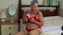 EUROPEMATURE Awesome granny Rose solo masturbation