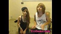 Emo couple webcam blowjob
