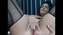 Chubby hairy romanian cam-slut squirts FreeCamG... Thumbnail