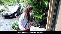 MyBabySittersClub - Petite Babysitter Fucked By...