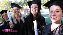 Выпускница на выпускном делает отсос онлайн