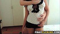 big titty asian amateur blows a stranger