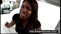 video ass big ebony in porn first makes amateur teen Black