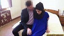 Sexy Teen Arab Refugee Fucks In A Hotel Room