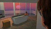 3D Hentai Big tit MILF bathtub fucking - myfuckingwebcam.com