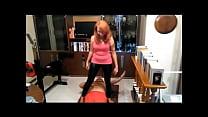 Doing Yoga Training on Fakir's Stomach (Stomach...