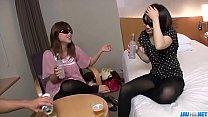 Bedroom porn scenes in threesome with Ria - Mor...
