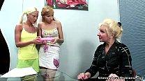 e russian teens get a lesson of lesbian sex