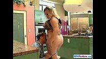 Very Large Slutty Blond