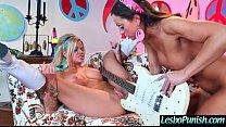 (abigail&jessa) Lesbo Girl Get Punish By Mean L...
