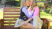 Big boobs babes Mia Malkova and Brandi Love 3so... thumb