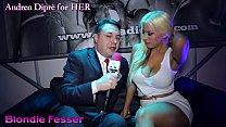 Hot twerking of Blondie Fesser on Andrea Diprè