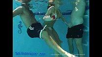 Sandy Knight Underwater Threesome