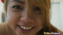 Trike Patrol - 20yo Filipina gets her furry pus... Thumbnail