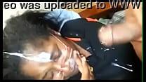 Negra leva jatos de gozo na cara depois do boquete