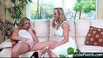 Hot Lez Girl (brandi&mia) Get Punish By Mean Le...