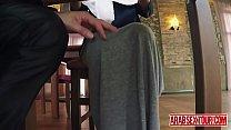 Virgin Arabic babe sex for a hotel room