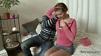 Cute 18yr old Virgin Teen Seduce to Anal Sex by... thumb