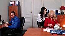 Asshole Pounding Threesome with Ivana Sugar & I...