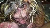 Pawg thot sloppy deepthroat