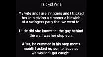 Stepmom Tricked! Unknowingly Sucks Stepsons Coc...