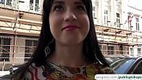 Sexy Russian teen Taissia Shanti gets down on h...