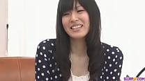 Nozomi Koizumi strips naked and gives an asian ... thumb