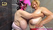 2 older ladies with huge tits