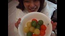 Japanese amateur ball konnyaku into vagina Thumbnail
