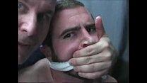 จับคู่ขาฝรั่งเกย์มัดปากมัดมือแล้วเล่นเสียวกันแบบซาดิสเสียวถึงใจหนังเกย์