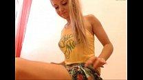 webcam masturbating woman young blonde russian Sexy