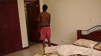 Black African Rayshon Beats Off