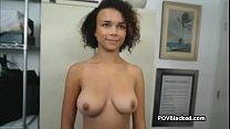 Big tit ebony on BBC casting